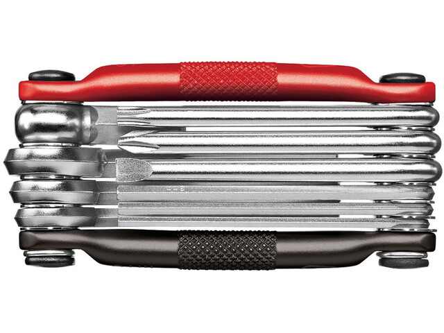 Crankbrothers Multi-10 Multitool schwarz/rot